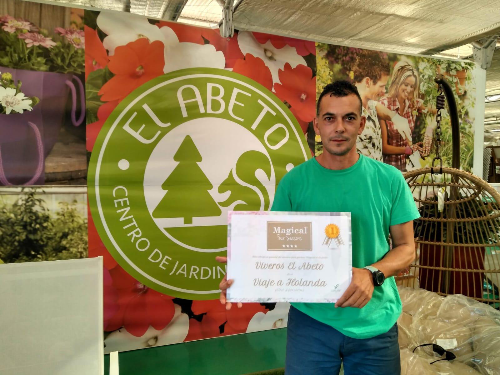 El ganador del concurso 'Magical en tu jardín' gana un viaje a Holanda para dos personas