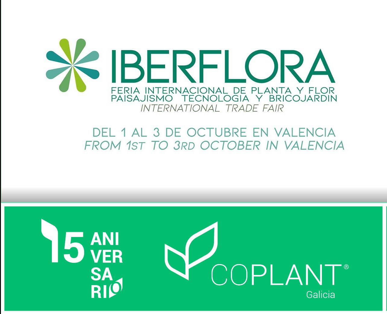 Coplant estará en Iberflora 2019  con el stand más grande de toda Galicia