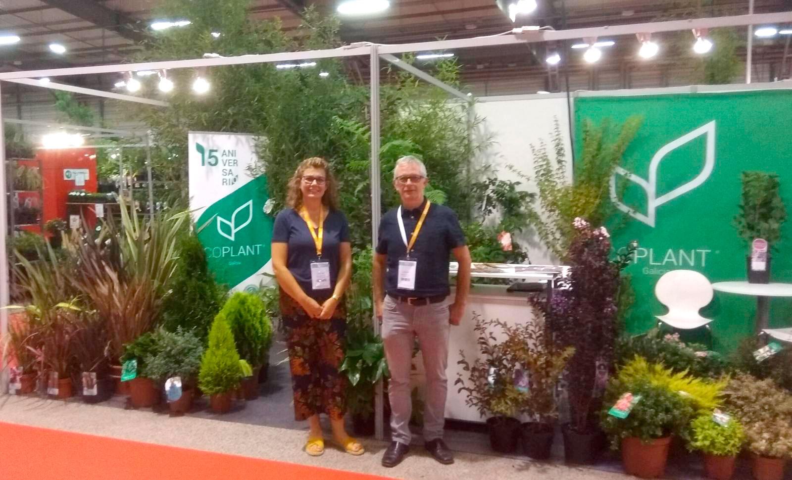 Nuestros representantes en Nantes, Caroline da Silva y Jon Zabaleta, recibieron a un gran número de clientes en el Salon dun Végétal