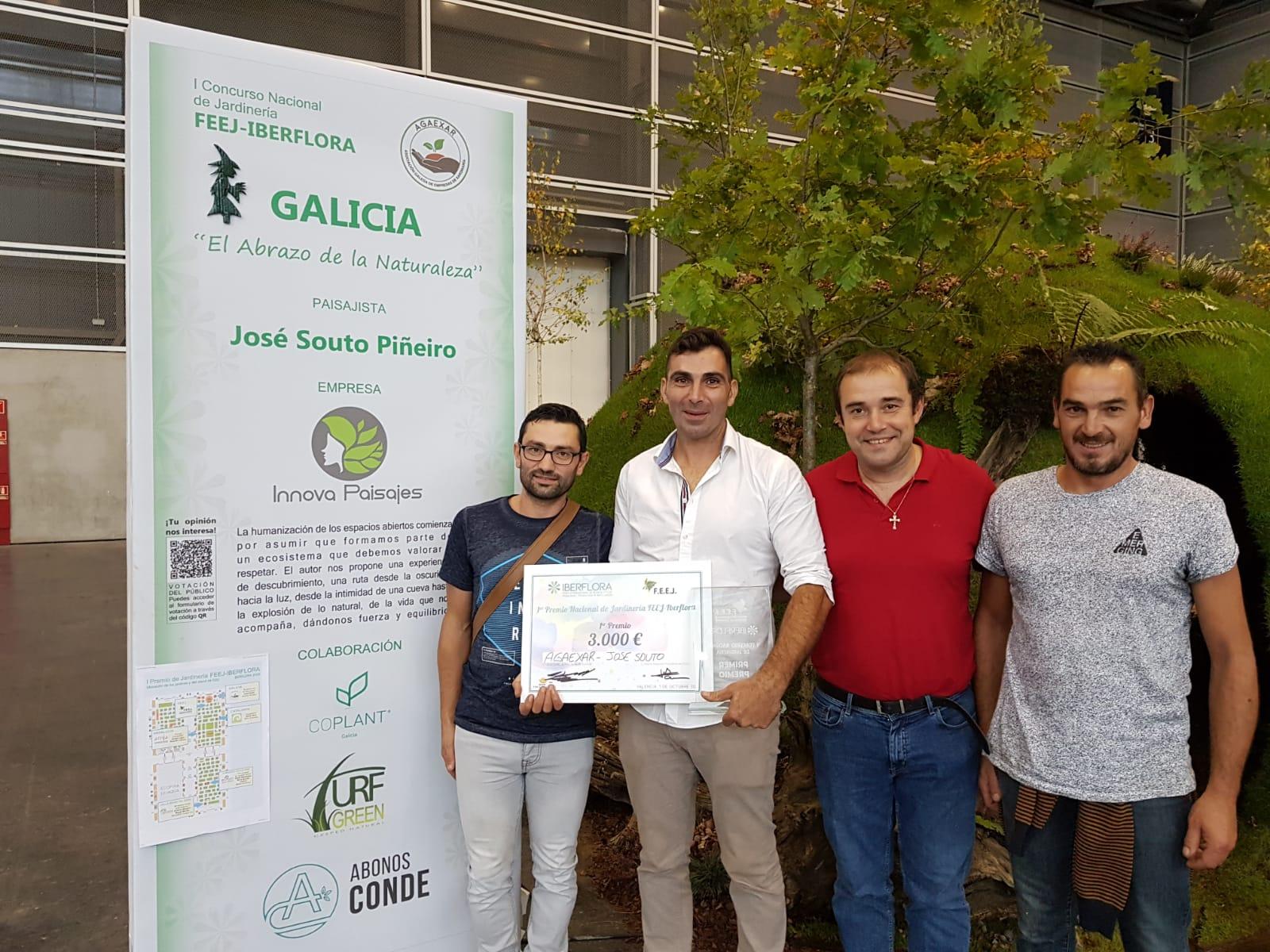 Coplant Galicia resuena en Iberflora 2019